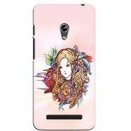 Snooky 36138 Digital Print Hard Back Case Cover For Asus Zenphone 5 - Multicolour