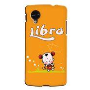 Snooky 35965 Digital Print Hard Back Case Cover For LG Google Nexus 5 - Yellow