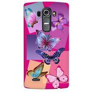 Snooky 37954 Digital Print Hard Back Case Cover For LG G4 - Pink