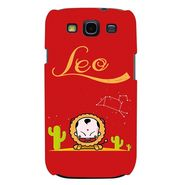 Snooky 35700 Digital Print Hard Back Case Cover For Samsung Galaxy S3 I9300 - Red