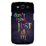 Snooky 35710 Digital Print Hard Back Case Cover For Samsung Galaxy S3 I9300 - Black