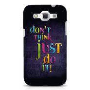 Snooky 38241 Digital Print Hard Back Case Cover For Samsung Galaxy Grand Quattro GT-I8552 - Black