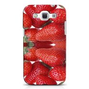 Snooky 38259 Digital Print Hard Back Case Cover For Samsung Galaxy Grand Quattro GT-I8552 - Red