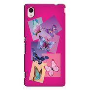 Snooky 37854 Digital Print Hard Back Case Cover For Sony Xperia M4 AQUA DUAL - Pink