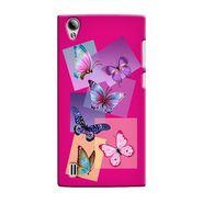 Snooky 37554 Digital Print Hard Back Case Cover For Vivo Y15 - Pink