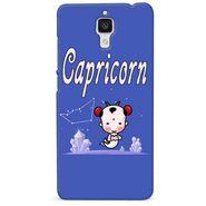 Snooky 38433 Digital Print Hard Back Case Cover For Xiaomi MI 4 - Purple