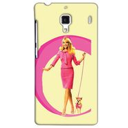 Snooky 38467 Digital Print Hard Back Case Cover For Xiaomi Redmi 1S - Yellow