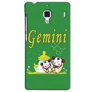 Snooky 38487 Digital Print Hard Back Case Cover For Xiaomi Redmi 1S - Green