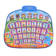 Touch Sensitive Foldable Musical Learning Play Mat