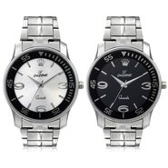Pack of 2 Round Dial Wrist Watches_Combo8