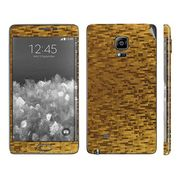 Snooky 19267 Mobile Skin Sticker For Samsung Galaxy Note Edge - Golden