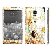 Snooky 39497 Digital Print Mobile Skin Sticker For Samsung Galaxy Note EDGE - White