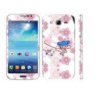 Snooky 39604 Digital Print Mobile Skin Sticker For Samsung Galaxy Mega 5.8 Gt 18281 - White