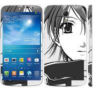 Snooky 39614 Digital Print Mobile Skin Sticker For Samsung Galaxy Mega 6.3 - Grey