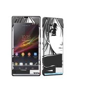 Snooky 39830 Digital Print Mobile Skin Sticker For Sony Xperia Sp M35h C5302 - Grey