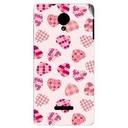 Snooky 40284 Digital Print Mobile Skin Sticker For Micromax Canvas Fun A74 - White