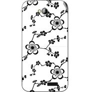 Snooky 40315 Digital Print Mobile Skin Sticker For Micromax Bolt A089 - Grey