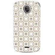Snooky 40318 Digital Print Mobile Skin Sticker For Micromax Ninja A89 - White