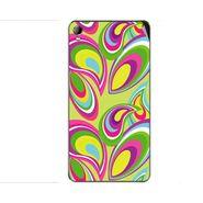 Snooky 40407 Digital Print Mobile Skin Sticker For Micromax Canvas Fire 2 A104 - multicolour