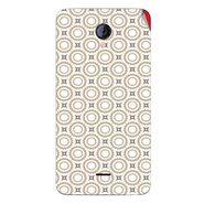 Snooky 40417 Digital Print Mobile Skin Sticker For Micromax Unite 2 A106 - Brown
