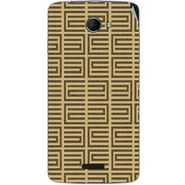 Snooky 40434 Digital Print Mobile Skin Sticker For Micromax Canvas Elanza 2 A121 - Brown