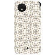 Snooky 40473 Digital Print Mobile Skin Sticker For Micromax Android One - Brown