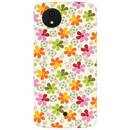 Snooky 40474 Digital Print Mobile Skin Sticker For Micromax Android One - White