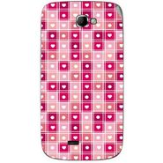 Snooky 40509 Digital Print Mobile Skin Sticker For Micromax Canvas Engage A091 - Pink