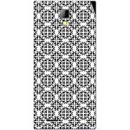Snooky 40528 Digital Print Mobile Skin Sticker For Micromax Canvas Xpress A99 - White
