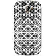 Snooky 40808 Digital Print Mobile Skin Sticker For XOLO A500 - White