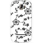 Snooky 40818 Digital Print Mobile Skin Sticker For XOLO A500 - White