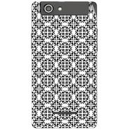 Snooky 40836 Digital Print Mobile Skin Sticker For XOLO A500S - White
