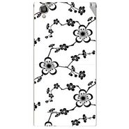 Snooky 40888 Digital Print Mobile Skin Sticker For XOLO A550S IPS - White