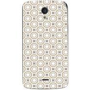 Snooky 40949 Digital Print Mobile Skin Sticker For XOLO Omega 5.5 - Brown