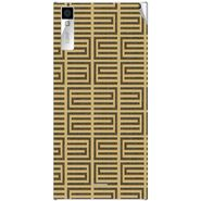 Snooky 40994 Digital Print Mobile Skin Sticker For XOLO Q600S - Brown