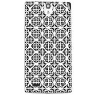 Snooky 41116 Digital Print Mobile Skin Sticker For XOLO Q1010i - White