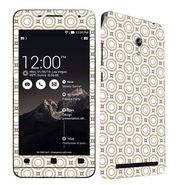 Snooky 41215 Digital Print Mobile Skin Sticker For Asus Zenfone 6 A600CG/A601CG - Brown