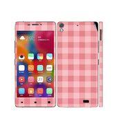 Snooky 41234 Digital Print Mobile Skin Sticker For Gionee Elife 5.1 - Pink