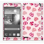 Snooky 41292 Digital Print Mobile Skin Sticker For Huawei Ascend P6 - White