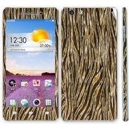 Snooky 41343 Digital Print Mobile Skin Sticker For OPPO R1 R829t - Brown