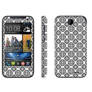 Snooky 41368 Digital Print Mobile Skin Sticker For HTC Desire 310 - White