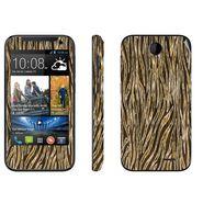 Snooky 41371 Digital Print Mobile Skin Sticker For HTC Desire 310 - Brown