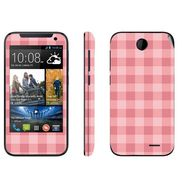 Snooky 41374 Digital Print Mobile Skin Sticker For HTC Desire 310 - Pink