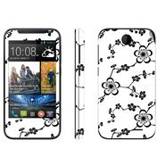 Snooky 41378 Digital Print Mobile Skin Sticker For HTC Desire 310 - White