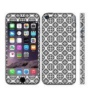 Snooky 41508 Digital Print Mobile Skin Sticker For Apple Iphone 5 - White