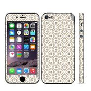 Snooky 41509 Digital Print Mobile Skin Sticker For Apple Iphone 5 - Brown