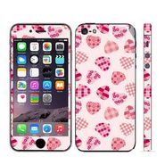 Snooky 41516 Digital Print Mobile Skin Sticker For Apple Iphone 5 - White
