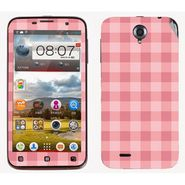 Snooky 41570 Digital Print Mobile Skin Sticker For Lenovo A850 - Pink