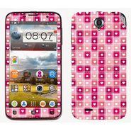 Snooky 41573 Digital Print Mobile Skin Sticker For Lenovo A850 - Pink