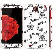 Snooky 41588 Digital Print Mobile Skin Sticker For Lenovo S820 - White